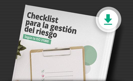 Descargar gratis un checklist para la gestión de riesgo según la ISO 31000